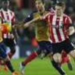 Babak 1 Southampton Vs Arsenal: Ozil Cs Tertinggal