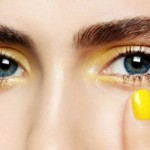 How To Pull Off Yellow Eyeshadow?